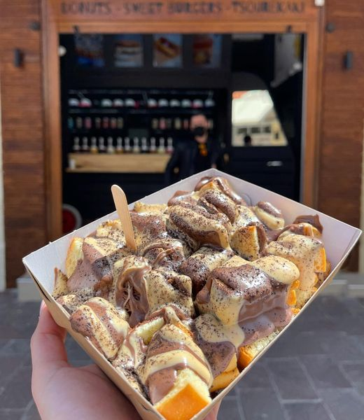 Το «Jerry's Foodruck» είναι η πιο γλυκιά καντίνα της πόλης υπόσχεται να σου φτιάξει τη μέρα