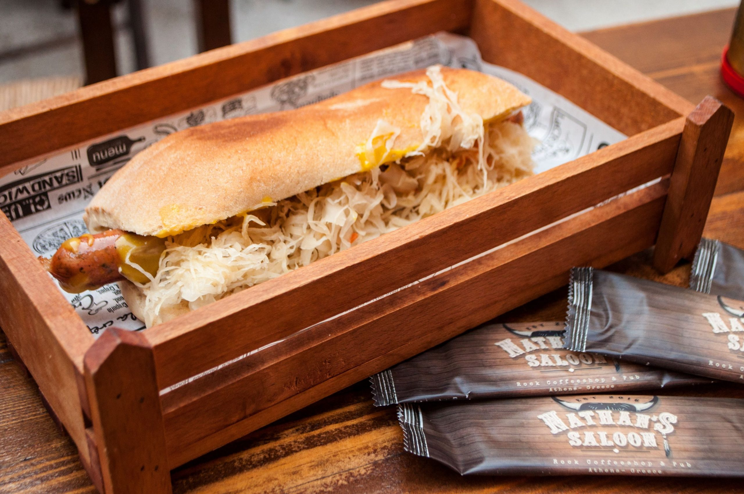 Nathan's Saloon: Η ροκ παμπ με το φαγητό που θα σε στοιχειώσει